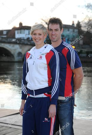 Couple Vicky Thornley And Richard Egington Are Both Great Britain Rowers And Members Of The Leander Club Henley-on-thames.