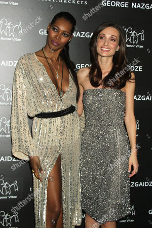 Jessica White and Mariam Kinkladze