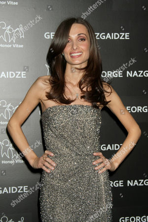 Editorial picture of Charity Meets Fashion 2012 at Affirmation Arts, New York, America - 17 Dec 2012