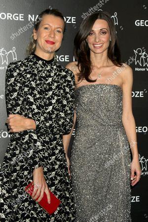 Natalie Joos and Mariam Kinkladze