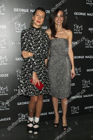 Stock Image of Natalie Joos and Mariam Kinkladze