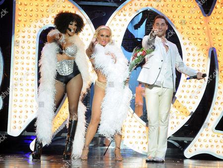 Cheaza, Nicole Coco Austin, and Josh Strickland