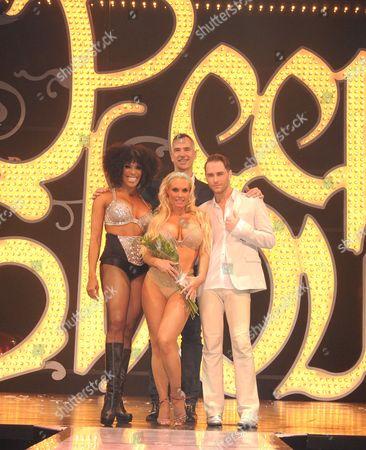 Cheaza, Nicole Coco Austin, Jerry Mitchell, and Josh Strickland