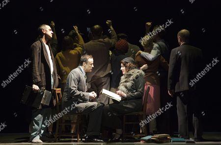 'The Master and Margarita' - Richard Katz as Bezdomny, Paul Rhys as The Master and Susan Lynch as Margarita