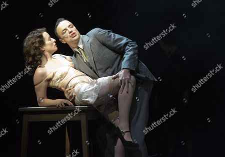 'The Master and Margarita' - Paul Rhys as The Master and Susan Lynch as Margarita