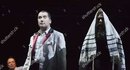 Editorial photo of 'The Master and Margarita' play at the Barbican Theatre, London, Britain - 17 Dec 2012