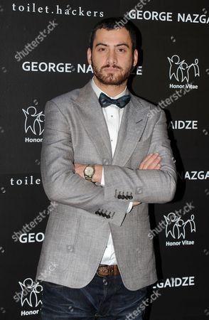 Stock Image of George Nazgaidze