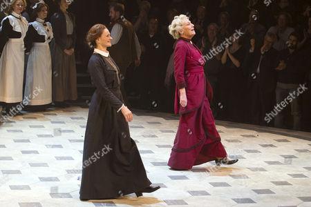 Nicola Sloane (Mrs Pearce) and Richenda Carey (Mrs Higgins)