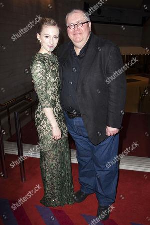 Carly Bawden (Eliza Doolittle) and Martyn Ellis (Alfred P Doolittle)