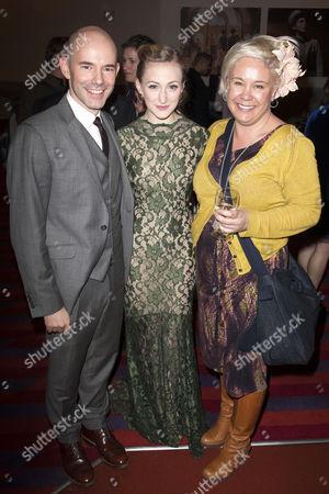 Daniel Evans (Director), Carly Bawden (Eliza Doolittle) and Emma Rice