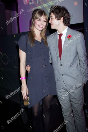 Stock Picture of Kajsa Mohammar and Alex Vlahos