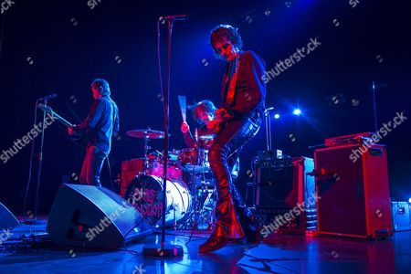 Editorial picture of Jon Spencer Blues Explosion in concert in Brussels, Belgium - 10 Dec 2012
