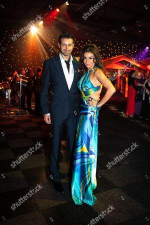 Armand Beasley and Shobna Gulati