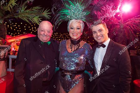 Tim Healey, Denise Welch and Joe McElderry