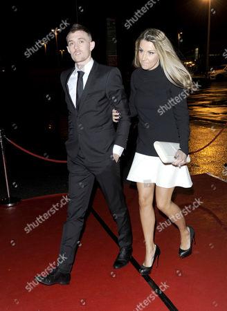 Darren Fletcher and wife Hayley Grice