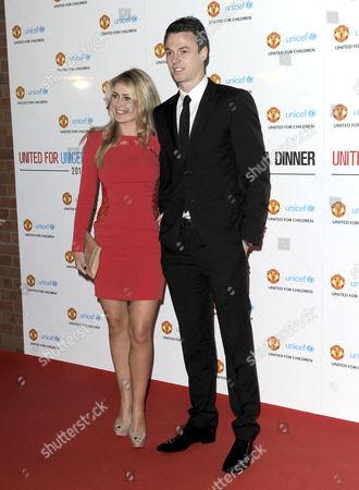 Jonny Evans and Helen McConnell