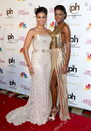 Logan West and Leila Lopes