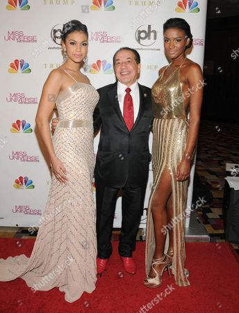 Logan West, Farouk Shami and Leila Lopes