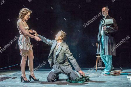 'The Master and Margarita' - Susan Lynch (Margarita), Paul Rhys (The Master) and Richard Katz (Bezdomny)