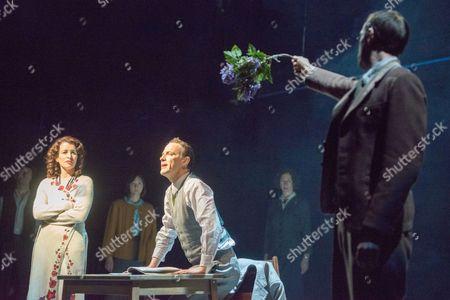 'The Master and Margarita' - Susan Lynch (Margarita) and Paul Rhys (The Master)