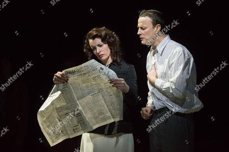 'The Master and Margarita' - Paul Rhys (The Master) and Susan Lynch (Margarita)