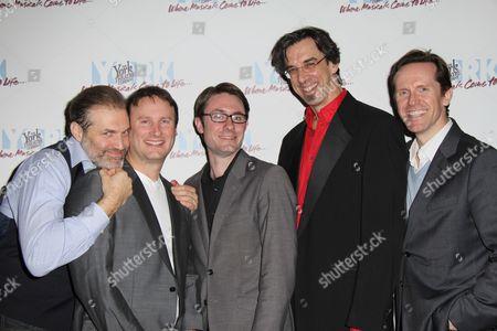 Marc Kudisch, Michael Croiter, Timothy Splain, Ritt Henn and Jeffry Denman