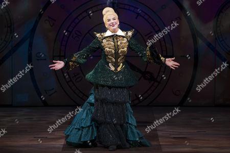 Editorial image of 'Wicked' play press night curtain call at the Apollo Victoria Theatre, London, Britain - 20 Dec 2012