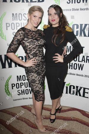 Stock Photo of Lucy Van Gasse and Hayley Gallivan