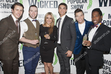 Editorial photo of 'Wicked' play press night after party at the Apollo Victoria Theatre, London, Britain - 20 Dec 2012