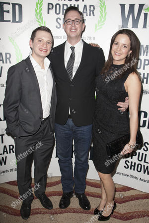 Stock Picture of Sam Lupton, Michael McCabe and Katie Rowley Jones