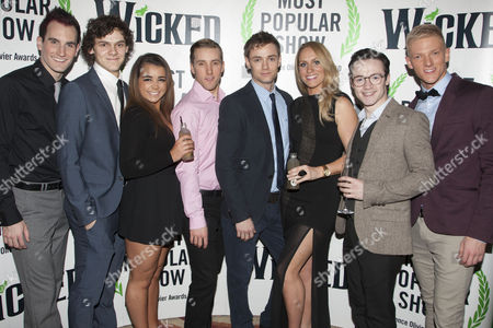 Stock Picture of Jason Winter, William Bozier, Aisling Duffy, Robert Jones, Oliver Watton, Michelle Pentecost, Marc McBride and Tom Muggeridge