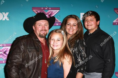Tate Stevens and Family