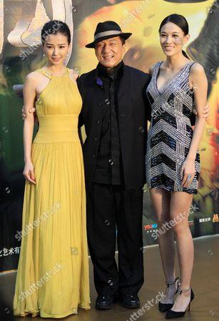 Yao Xingtong, Jackie Chan and Zhang Lanxin