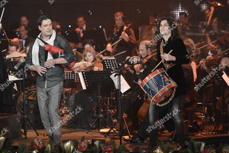 Editorial photo of The 2012 Christmas Concert at the Auditorium Conciliazione, Rome Italy - 15 Dec 2012