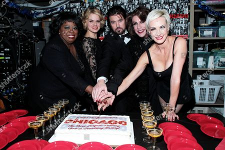 Editorial picture of Chicago becomes 3rd Longest-Running Broadway Show, New York, America - 21 Dec 2012