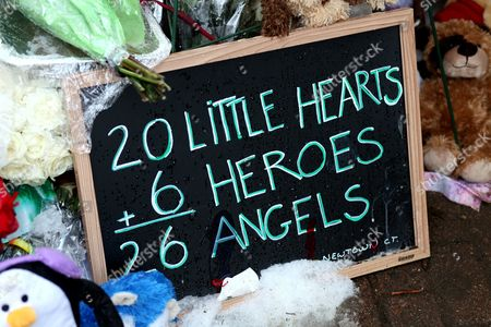 The victims of the Sandy Hook School shooting are remembered on Christmas Day