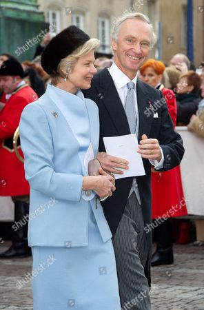 Stock Image of Archduke Christian of Austria and Archduchess Marie-Astrid of Austria