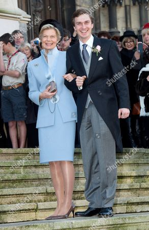 Editorial picture of Wedding of Christoph von Habsburg-Lothringen and Adelaide Drape-Frisch, Nancy, France - 29 Dec 2012