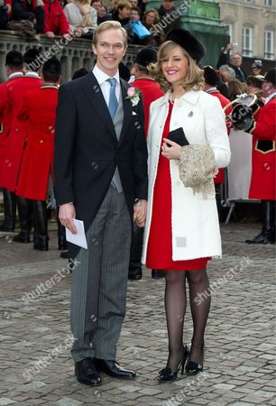 Editorial photo of Wedding of Christoph von Habsburg-Lothringen and Adelaide Drape-Frisch, Nancy, France - 29 Dec 2012