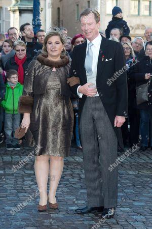 Grand Duke Henri of Luxembourg and Grand Duchess Maria Teresa of Luxembourg