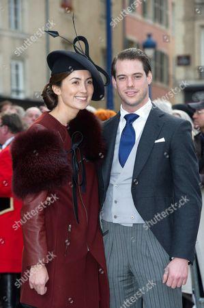 Editorial picture of Wedding of Christoph von Habsburg-Lothringen and Adelaide Drape-Frisch, Nancy, France - 29 Dec 2012