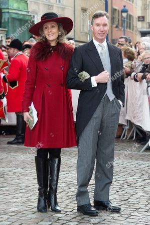 Editorial image of Wedding of Christoph von Habsburg-Lothringen and Adelaide Drape-Frisch, Nancy, France - 29 Dec 2012