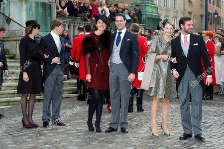 Editorial photo of Wedding of Christoph von Habsburg-Lothringen and Adelaide Drape-Frisch, Nancy, France - 29 Dec 2012