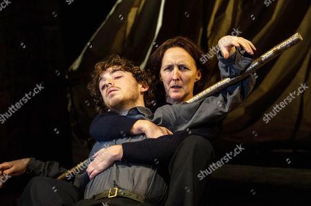 Daniel Hay-Gordon and Fiona Shaw