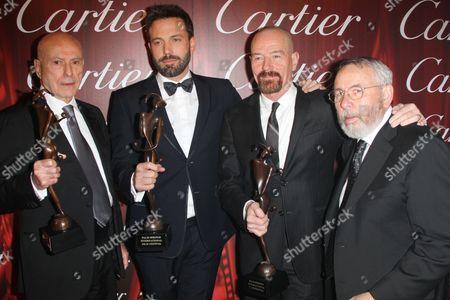Alan Arkin, Ben Affleck, Bryan Cranston and Tony Mendez