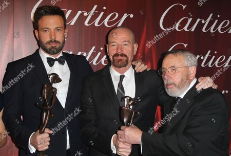 Ben Affleck, Bryan Cranston and Tony Mendez