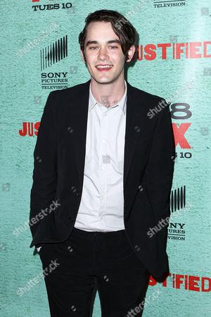 Editorial image of FX's 'Justified' Season 4 premiere, Los Angeles, America - 05 Jan 2013