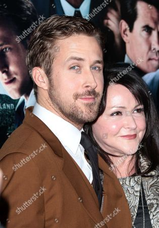 Ryan Gosling and his mother, Donna Gosling