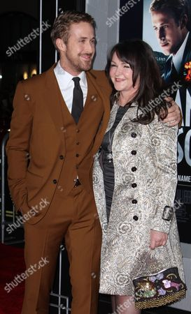 Ryan Gosling and mother, Donna Gosling