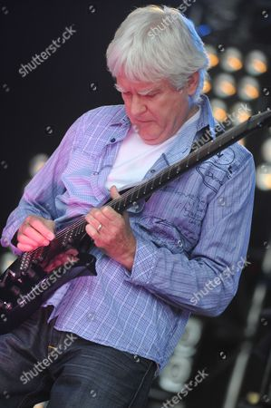 Stock Picture of London United Kingdom - July 23: John Lees Of Barclay James Harvest Performing Live Onstage At High Voltage Festival On July 23 2011 In London